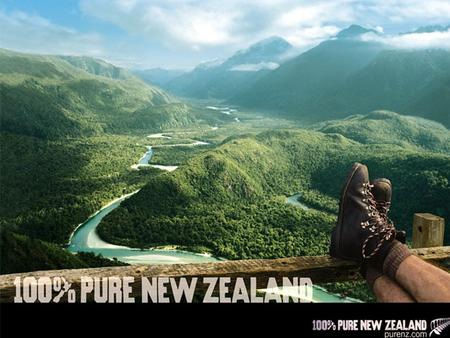 Walking in New Zealand Rivers, Mountains, Forest and Sea.