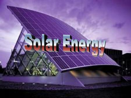What is Solar Power Solar power is the technology of obtaining usable energy from the light of the Sun. Where solar radiation is high enough it can be.