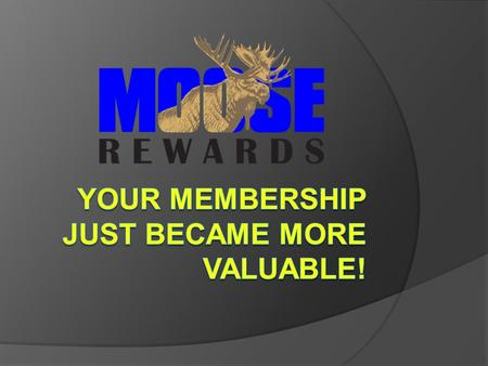 How will this program help you and the Moose?  Simply by doing things within the fraternity that contribute to its growth and success, you can be rewarded.