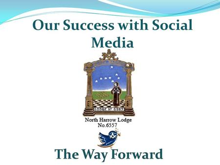 Our Success with Social Media. What types of Social Media do we use Social Media Twitter Facebook Website Blog.