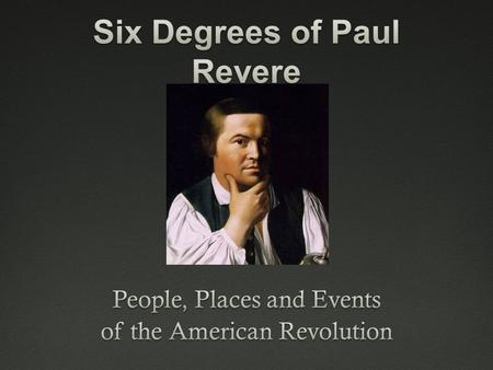 "More Than a Midnight Messenger  Who was Paul Revere?  Held no high offices  Wrote none of the great papers  Commanded no army  ""Mercury of the American."