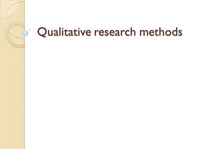 Qualitative research methods. Introduction Long history in the social sciences Increasingly becoming an essential component in HSR Enable us to access.