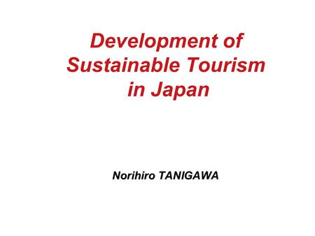 sustainable tourism development its impact to A development that has turned out to be a severe problem for many coastal areas  in the last decade is.