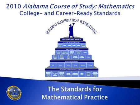 "The Standards for Mathematical Practice. Standards for Mathematical Practice ""The Standards for Mathematical Practice describe varieties of expertise."