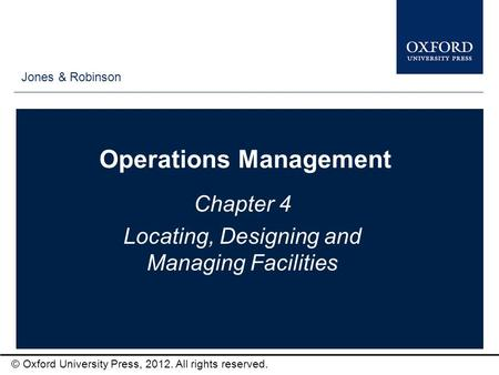 operations management chapter 4 1 Effective operations management product chapter 2 how should  4  5 6 7 8 1 2 3 4 innovation high volumes increasing market shares.