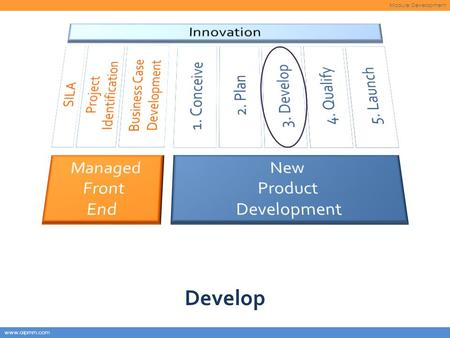 Module: Development www.aipmm.com Develop. Module: Development www.aipmm.com V ALUE OF P ORTFOLIO M ANAGEMENT Collaborative decision making by senior.