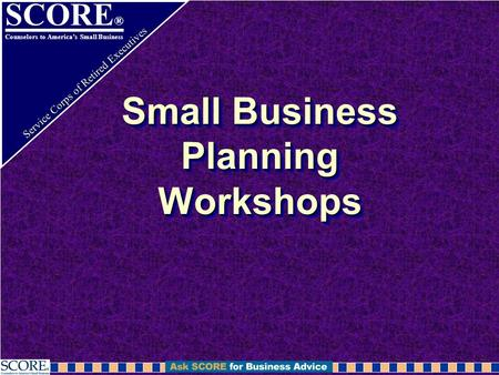 score business plan workshop chicago
