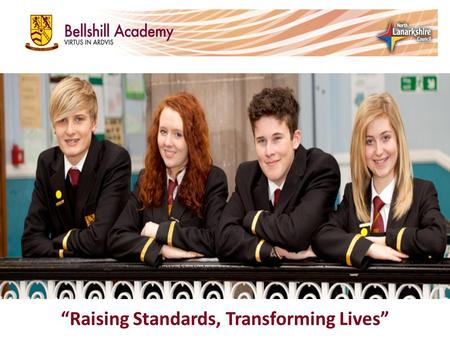 """Raising Standards, Transforming Lives"". Overview Our school in context Our project Overcoming challenges Impact:  Outcomes for our students  Outcomes."