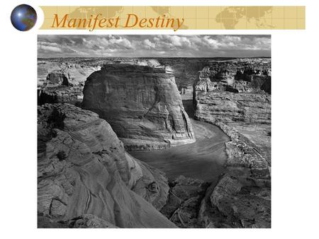 how did the idea of manifest destiny change Manifest destiny is a nineteenth-century belief that the united states had a mission to expand westward across the north american continent,.