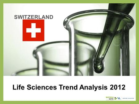 Life Sciences Trend Analysis 2012 SWITZERLAND. About Us The following statistical information has been obtained from Biotechgate. Biotechgate is a global,