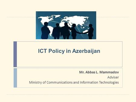 ICT Policy in Azerbaijan