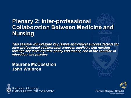 inter professional issues in nursing This publication presents 6 case studies on interprofessional education and collaborative practice from brazil, canada, india, south africa and the usa the document also highlights some barriers and enablers to take into account for implementation.