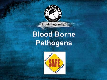 Goals This training module is provided to eliminate or minimize occupational exposure to bloodborne pathogens (BBP) in accordance with the OSHA Bloodborne.