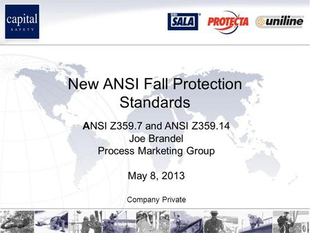 New ANSI Fall Protection Standards