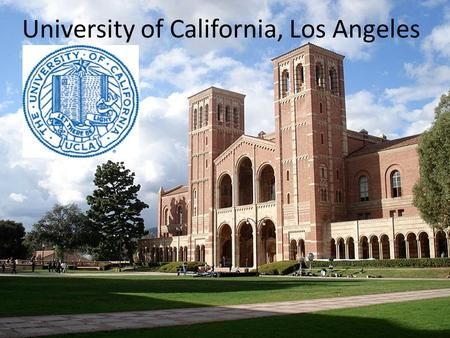 University of California, Los Angeles. UCLA is one of the world's greatest research universities, number 11 in London's Times Higher Education rankings.
