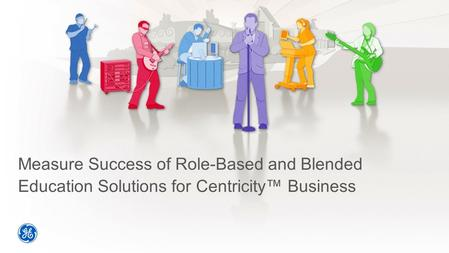 Measure Success of Role-Based and Blended Education Solutions for Centricity™ Business.