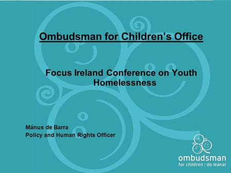 Ombudsman for Children's Office