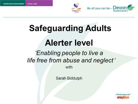Safeguarding adults of definition vulnerable