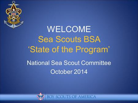 National Sea Scout Committee