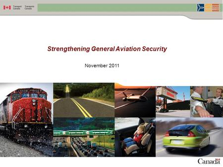 Strengthening General Aviation Security November 2011.