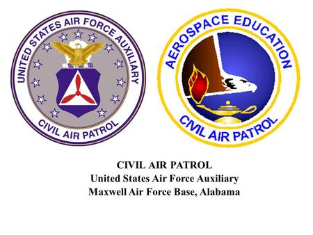 United States Air Force Auxiliary Maxwell Air Force Base, Alabama