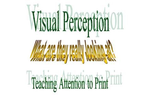 Visual Perception (The diagonal lines are parallel.)