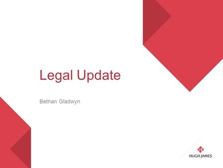Legal Update Bethan Gladwyn. Contents A.Lewisham – what does it really mean? B.Belongings left in the property at end of tenancy.