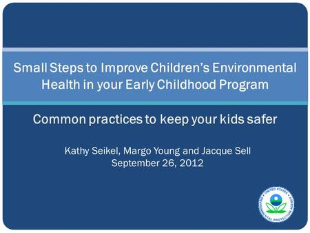 Common practices to keep your kids safer