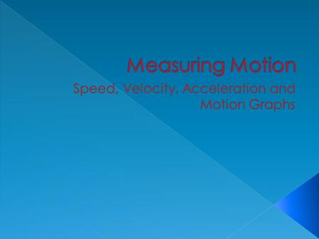 relationship of speed and velocity