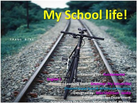 My School life! Learning Set : Fundamental English 1