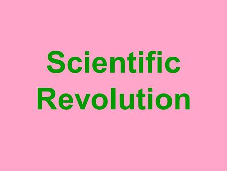 Scientific Revolution. Scientific Revolution, when did it take place? No set date to indicate the start of the Scientific Revolution. Some historians.