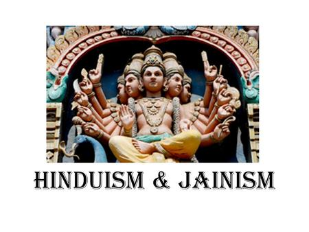 Ccot- the Evolution of Hinduism Essay