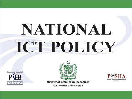 A different orientation Earlier Policy Initiatives 2011-12 Policy recommendation Domestic & External themes Impact specific National orientation ICT as.
