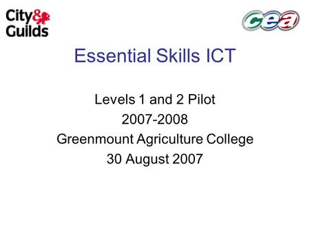how essential are computer skills for college If you are over the age of 16 an essential skills course may help you to you can do them in a college use mathematics and improve your computer skills.