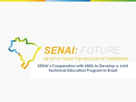 SENAI´s Cooperation with SMEs to Develop a Joint Technical Education Program in Brazil.