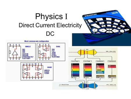 Direct Current Electricity DC