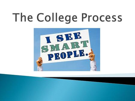  College Search  Applying to College  Making a Decision  Paying for College.