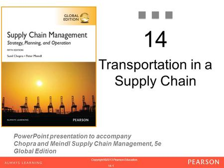 Presentation global supply chain management