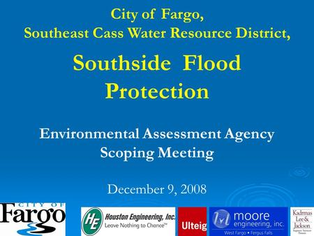 Southside Flood Protection