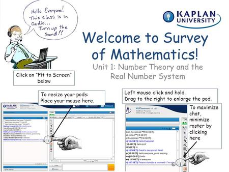 Welcome to Survey of Mathematics!