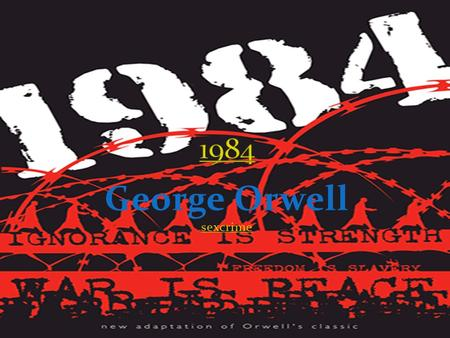 love of utopia in aldous huxleys brave new world and george orwells 1984 Like aldous huxley's brave new world in 1984: love is 1984 epub by george orwell review - review of soft copy.