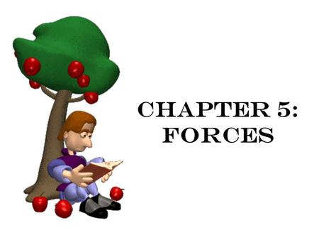 Chapter 5: forces.