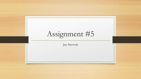 Assignment #5 Jon Stierwalt. Add-on Selling Amazon.com When looking at, or adding items to your basket, Amazon will show you things you may need with.