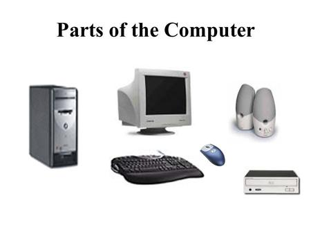 Parts of the Computer. Three Components of an Information System 1.Hardware The physical components that make up the computer and other devices connected.