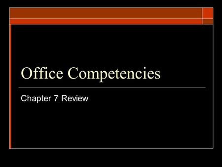 Office Competencies Chapter 7 Review. What is it called when you hire temporary workers for a specific project?  Just-in-time hiring.