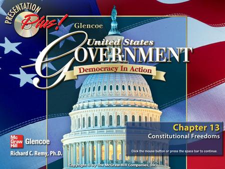 Splash Screen Contents Chapter Focus Section 1Section 1Constitutional Rights Section 2Section 2Freedom of Religion Section 3Section 3Freedom of Speech.
