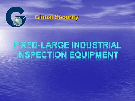 Global Security. No Dead detecting Space Radiation Source Boom Drive Container Detectors.