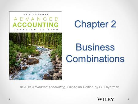 Chapter 2 Business Combinations