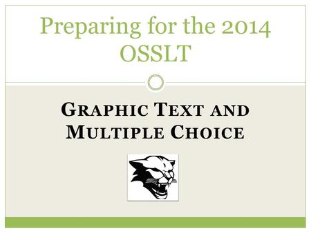 Preparing for the 2014 OSSLT