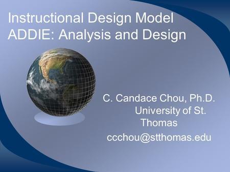curriculum design vs instructional design